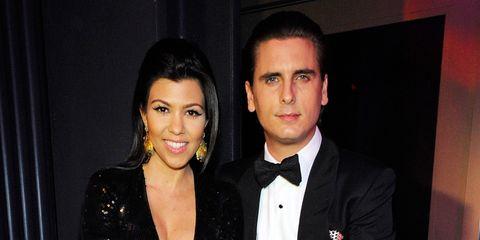 Kourtney Kardashian, Scott Disick, Joel And Benji Madden Ring In The New Year At Chateau Nightclub & Gardens