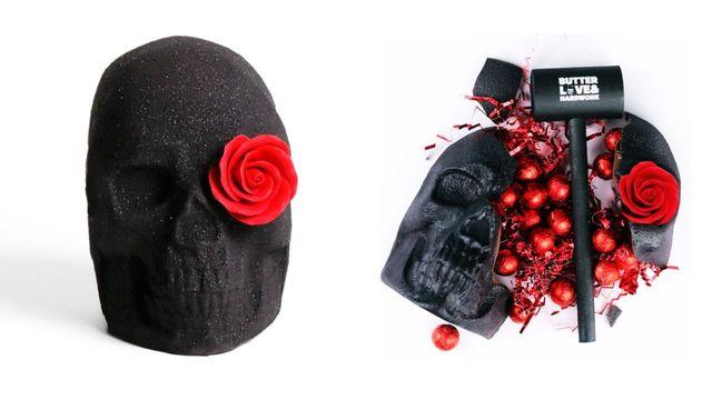 chocolate breakable skull