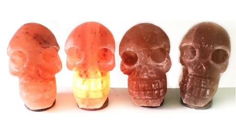 skull shaped salt lamp