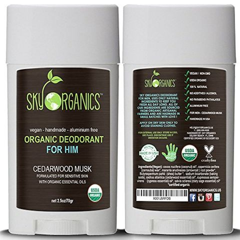 Sky Organics Deodorant for him