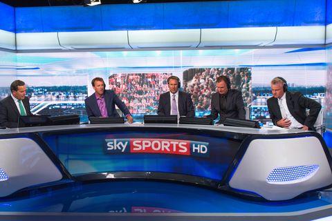 Sky Sports Soccer Saturday team