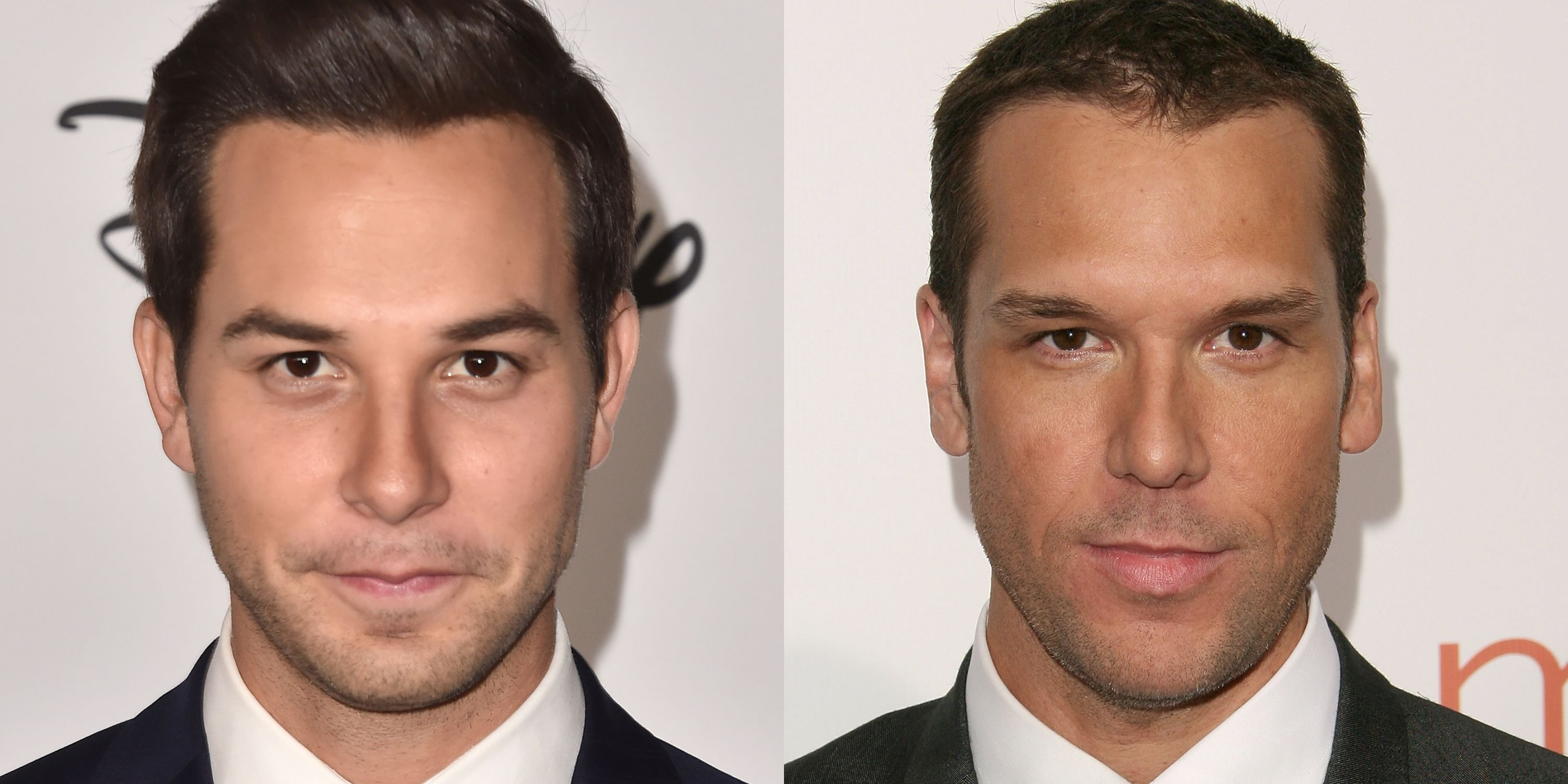 "Skylar Astin and Dane Cook If Astin were to grow a little facial hair, you would swear that he's Cook. The two actors must get that a lot—Astin posted this picture to Twitter with the caption , ""We don't see it."""