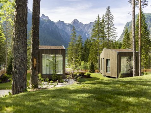 skyview chalets, trentino