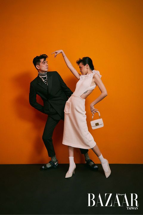 李函,時尚kol情侶檔,情侶穿搭,時尚穿搭
