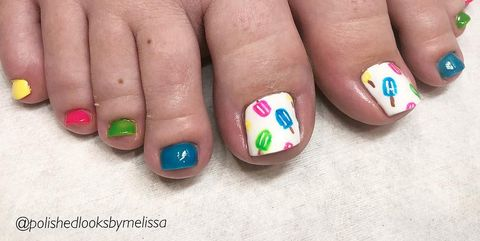 Toe Nail Designs - 11 Cute Toe Nail Art Designs 2018 - Best Toenail Polish Ideas