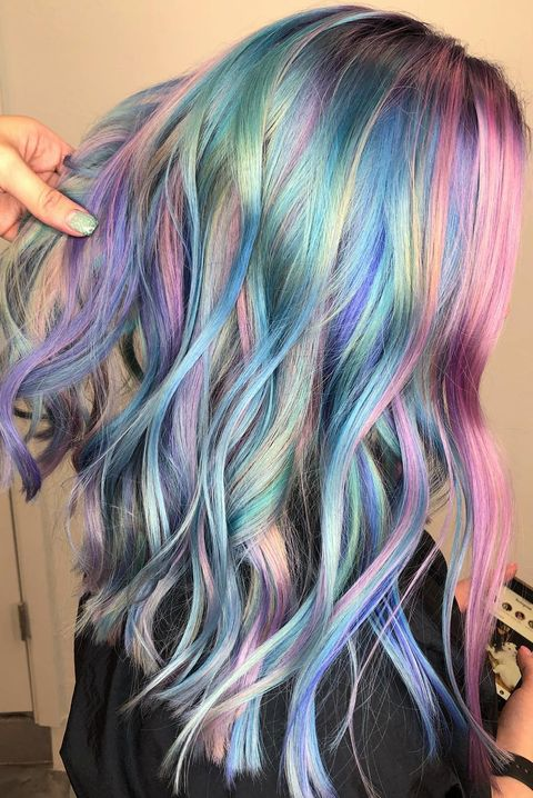 12 Mermaid Hair Color Ideas Amazing Mermaid Hairstyles For 2019