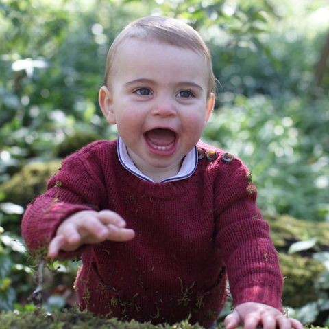 Child, People in nature, Facial expression, Toddler, Smile, Grass, Happy, Adaptation, Plant, Baby,