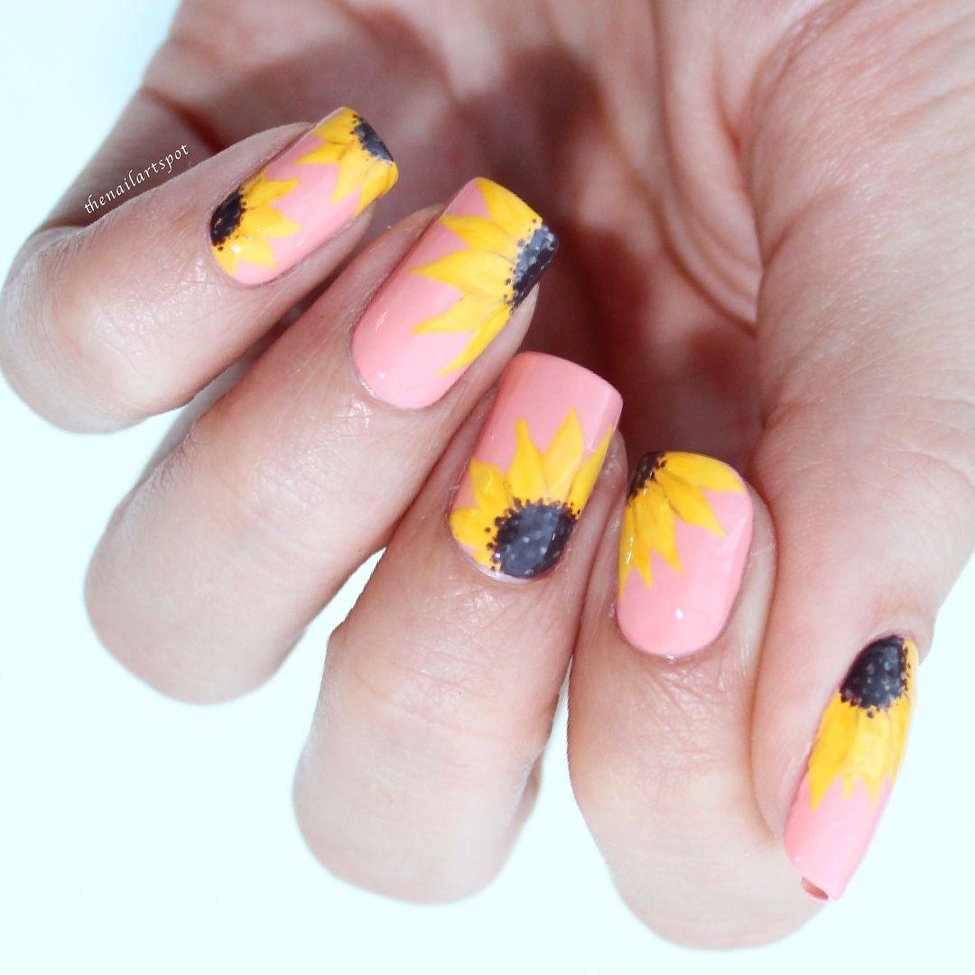 25 flower nail art design ideas easy floral manicures for spring 25 flower nail art design ideas easy floral manicures for spring and summer mightylinksfo