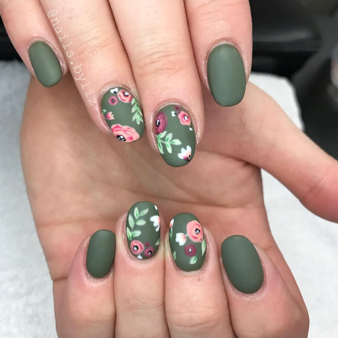 25 Flower Nail Art Design Ideas Easy Floral Manicures For Spring And Summer