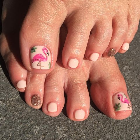 11 Cute Toe Nail Art Designs 2018 - Best Toenail Polish Ideas