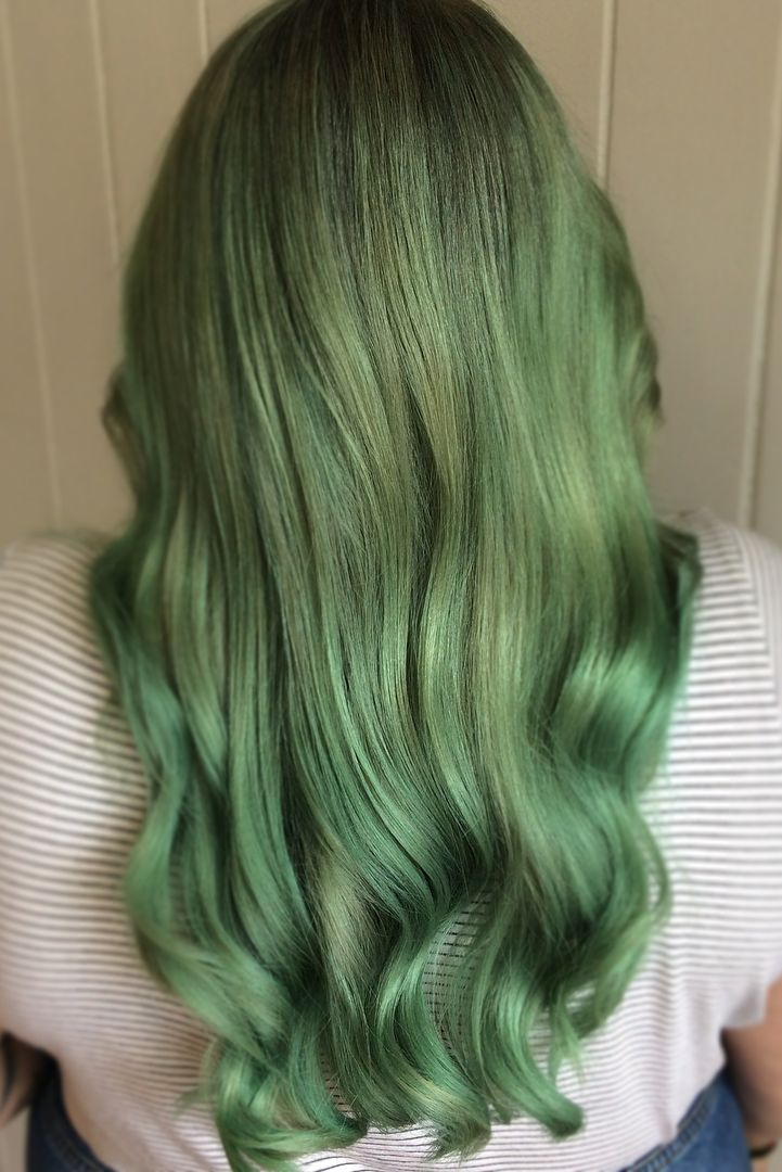 12 Mermaid Hair Color Ideas Amazing Mermaid Hairstyles For 2018
