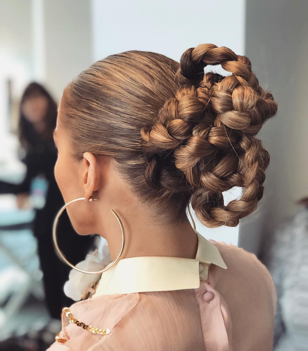 20 Braided Updo Hairstyles Pictures Of Pretty Updos With Braids