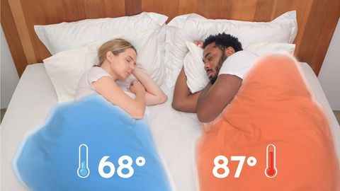 This Duvet Cover for Couples Is Actually Genius