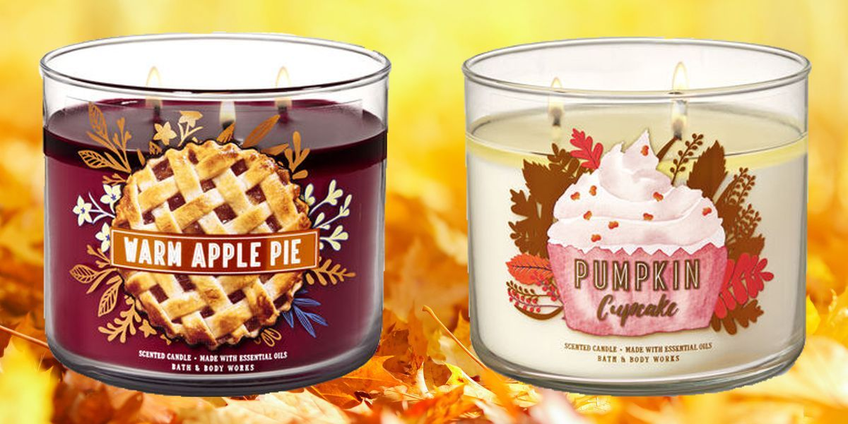 Stop Everything: Bath & Body Works Just Dropped Its Fall Candle Collection