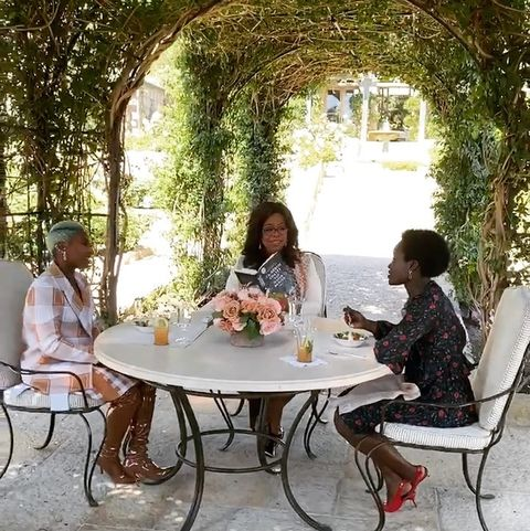 Table, Outdoor table, Furniture, Botany, Leisure, Tree, Patio, Sitting, Room, Architecture,