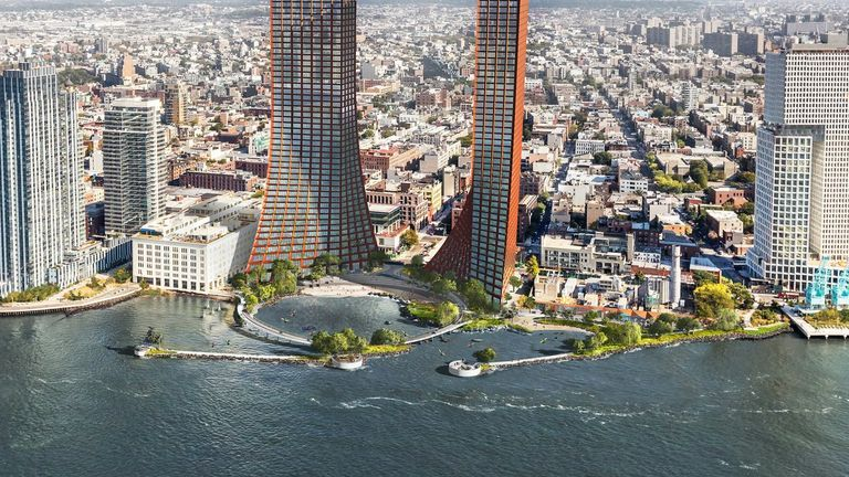 Williamsburg Could Be Getting Two Massive Waterfront Apartment Towers