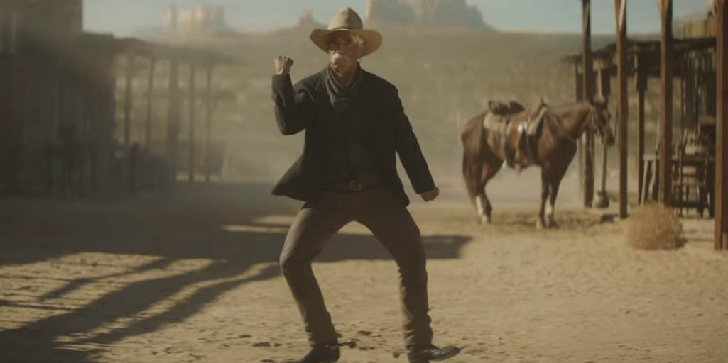 Sam Elliott Reveals It Was Actually Him Dancing in That Viral Super Bowl Ad