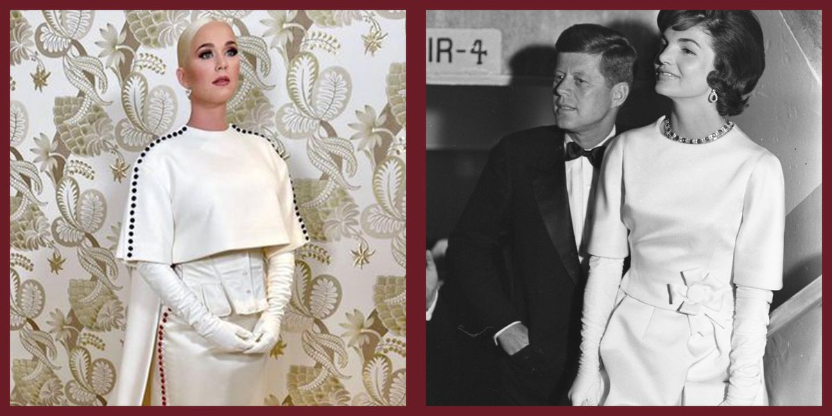 Katy Perry Appeared to Channel Jackie Kennedy With Her Inauguration Look