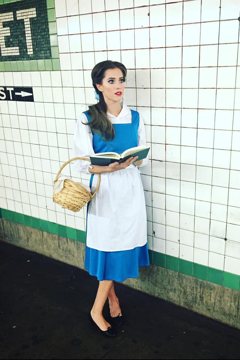 Allison Williams Belle Halloween Costume