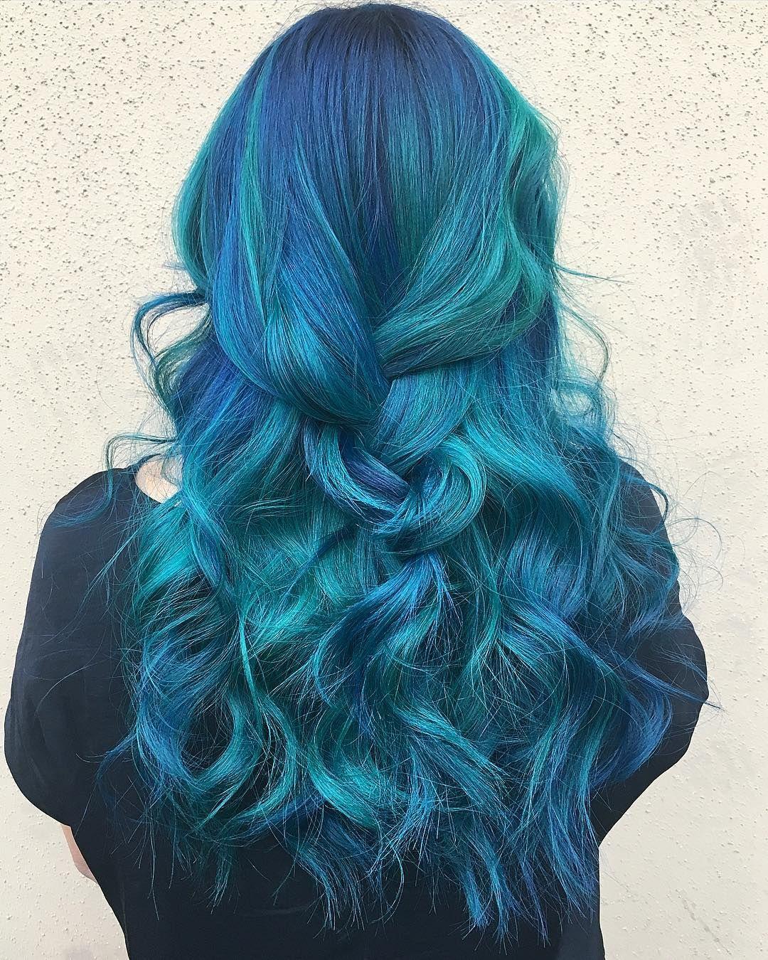 12 Mermaid Hair Color Ideas Amazing Mermaid Hairstyles For 2020