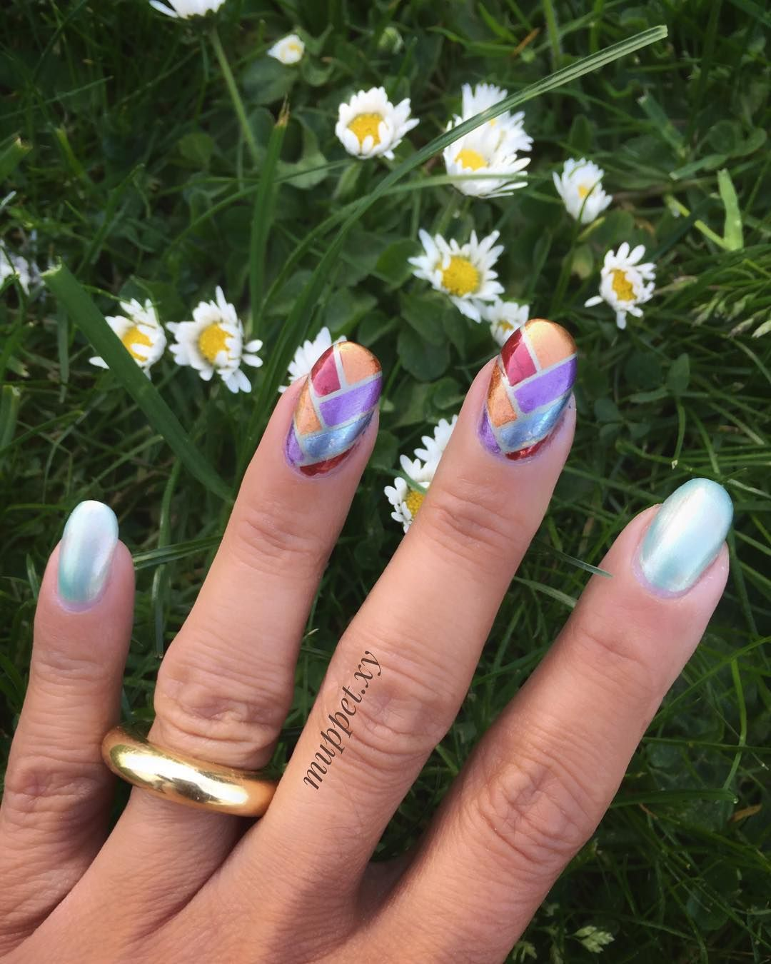 Braided Spring Nails - Best Spring Nail Designs