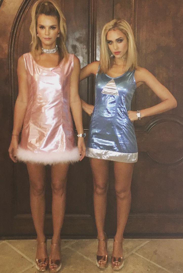 Jessica Alba Romy and Michele Costume