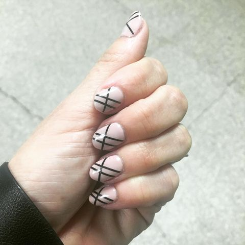 Striped Nails - Best Fall Nail Designs