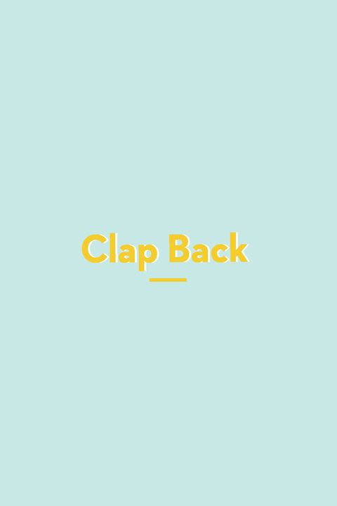 Clap Back slang words