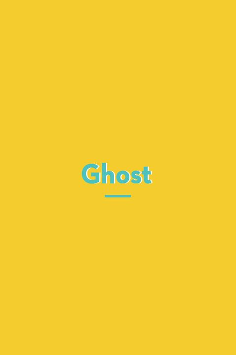 Ghost slang words