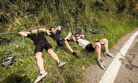 slapen, herstel, training