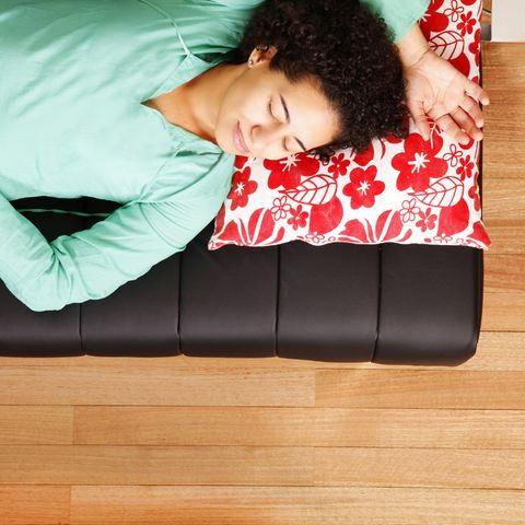 Human, Wood, Comfort, Hardwood, Wood stain, Wood flooring, Black hair, Laminate flooring, Couch, Varnish,
