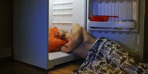sleeping in a heatwave