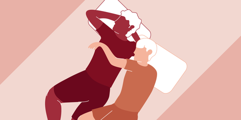 best couples sleeping positions