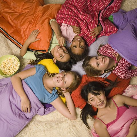 sleepover party games musical sleeping bags