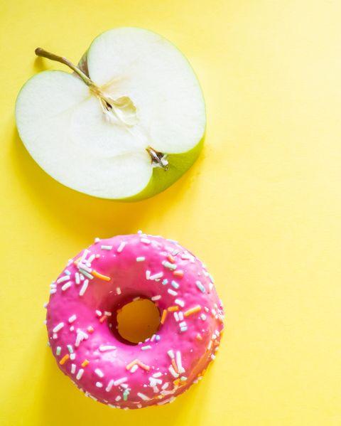 calorías iguales