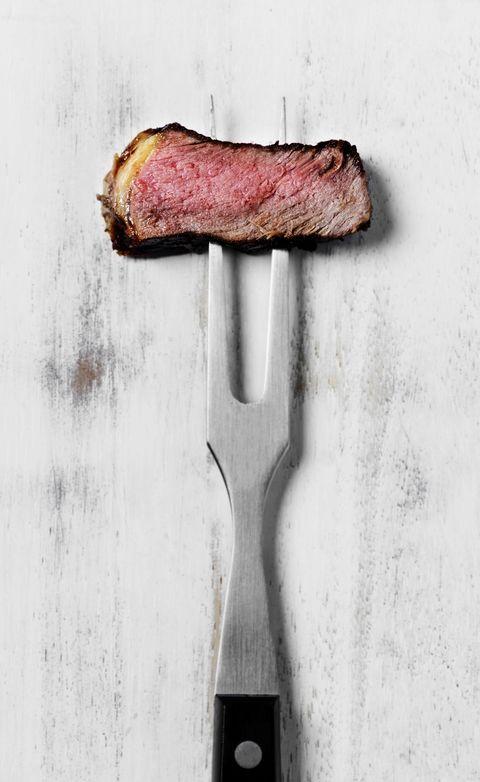 Slice of steak