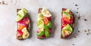 What to Eat for Breakfast , Rye toast