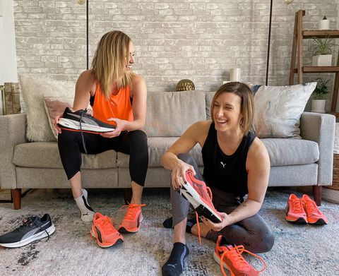puma running lindsey clayton amber rees women health own your breakfast