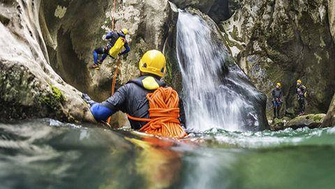 Gore-Tex Canyoneering