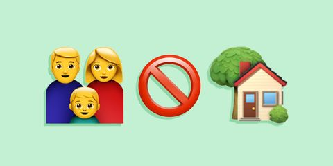 Illustration, Icon, Organism, Smile, Happy, House, Fictional character, Art,