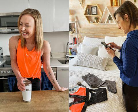 puma nitro running lindsey clayton amber rees women health own your breakfast