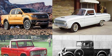 Land vehicle, Vehicle, Car, Motor vehicle, Pickup truck, Automotive exterior, Coupe utility, Automotive wheel system, Bumper, Classic car,