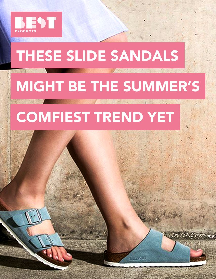d692968887fc 15 Best Slide Sandals for Women in 2018 - Stylish Slide for Spring   Summer