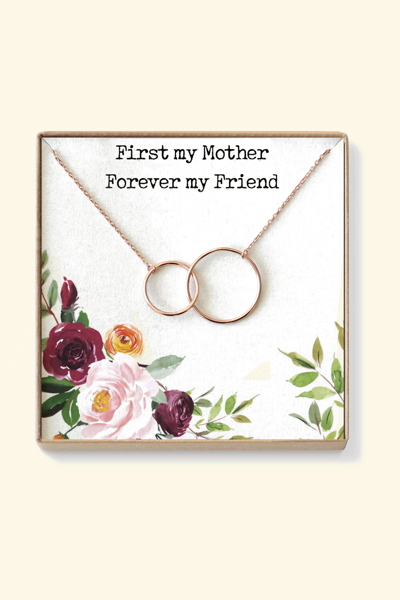 Mother's Day Gifts from Daughter -Mother Daughter Necklace