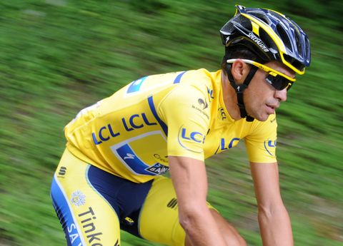 Clothing, Eyewear, Vision care, Bicycles--Equipment and supplies, Bicycle jersey, Glasses, Sports uniform, Helmet, Jersey, Yellow,