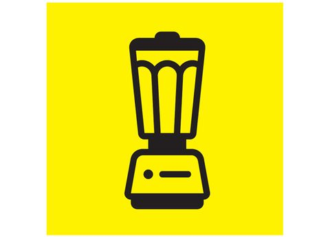 Yellow, Line, Clip art, Square, Graphics, Small appliance, Output device, Plastic,