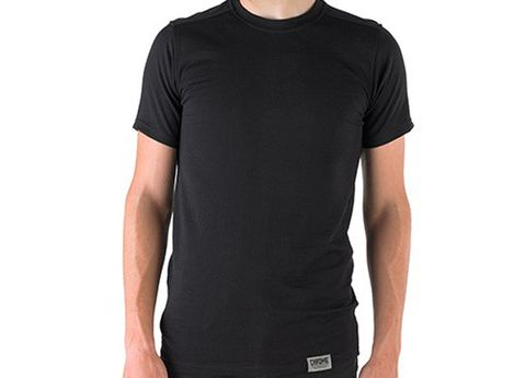 Product, Sleeve, Shoulder, Standing, Joint, Muscle, Neck, Black, Active shirt, Pocket,