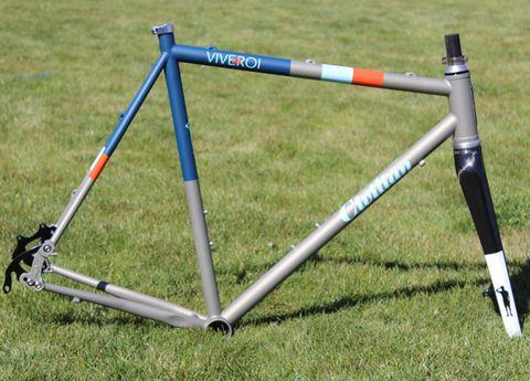 Bicycle frame, Line, Black, Electric blue, Cobalt blue, Metal, Steel, Aluminium, Triangle, Balance,
