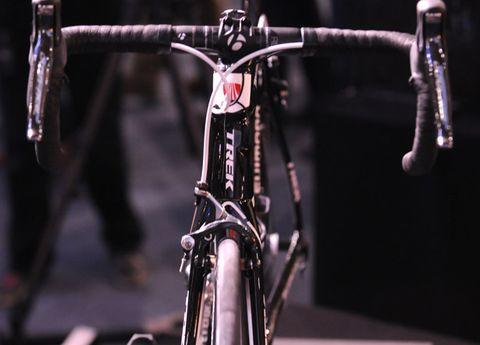 Bicycle frame, Bicycle handlebar, Bicycle accessory, Bicycle, Bicycle part, Bicycles--Equipment and supplies, Bicycle fork, Bicycle stem, Metal, Black,