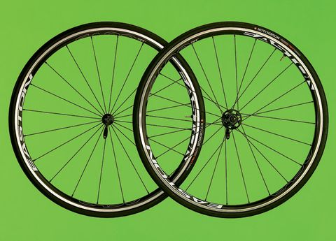 Wheel, Bicycle wheel rim, Bicycle tire, Bicycle wheel, Spoke, Green, Rim, Bicycle part, Bicycle accessory, Line,